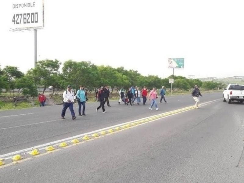 Construirán dos puentes en libramiento Fray Junípero Serra
