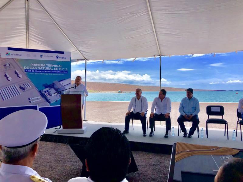 Construirán en La Paz terminal de Gas Natural
