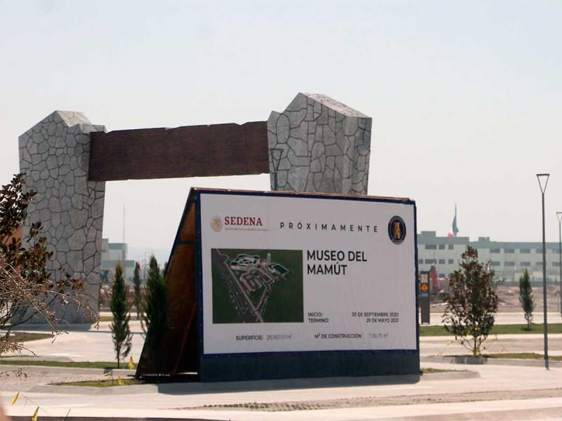 Construyen Museo del Mamut en Santa Lucía