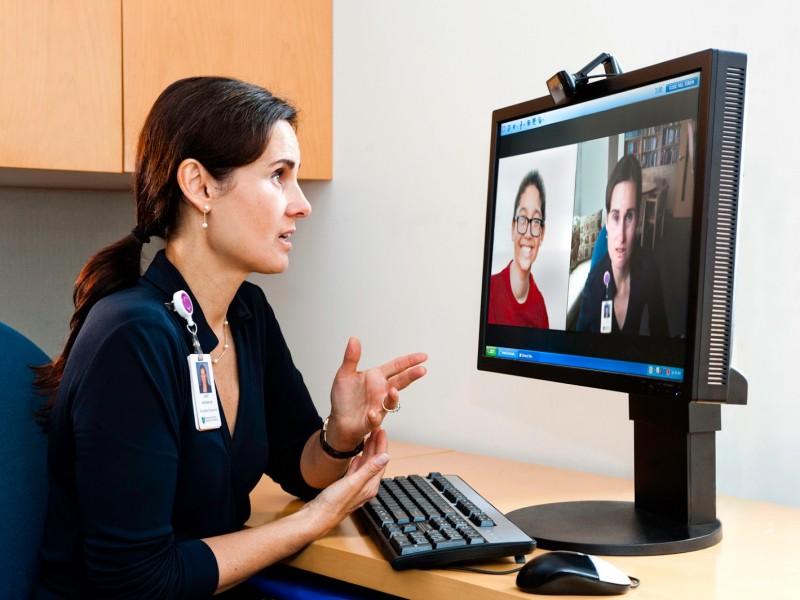 Consulta médica por internet