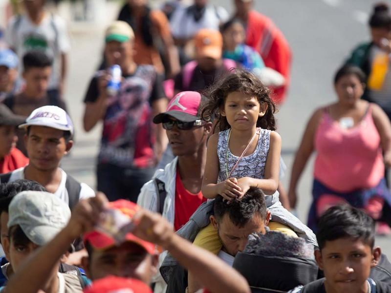 """""""Contados inmigrantes de caravana recibirán asilo en EUA"""