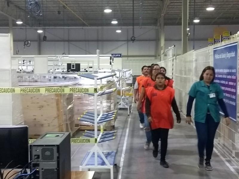 CONTEC retoma actividades con mil 150 trabajadores