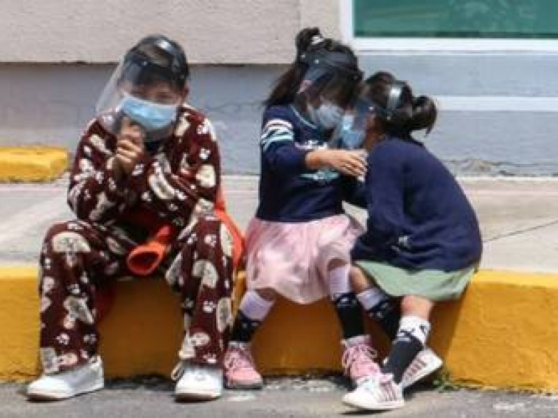 Conteo de contagios de Covid-19 en menores supera el millón