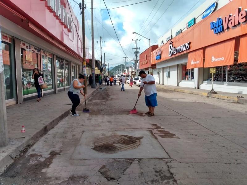 Contingencia sanitaria en Guaymas tras lluvias