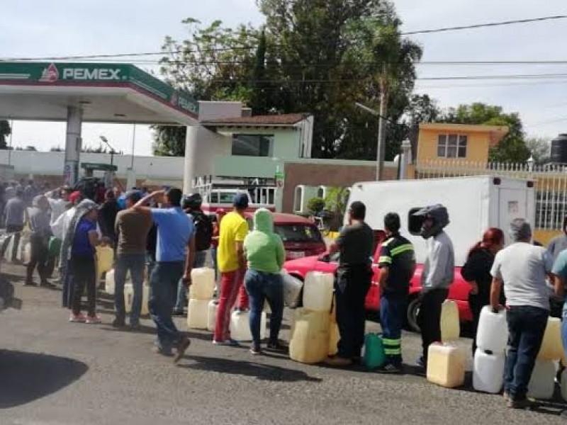 Continúa abasto gradual de gasolina en CDMX