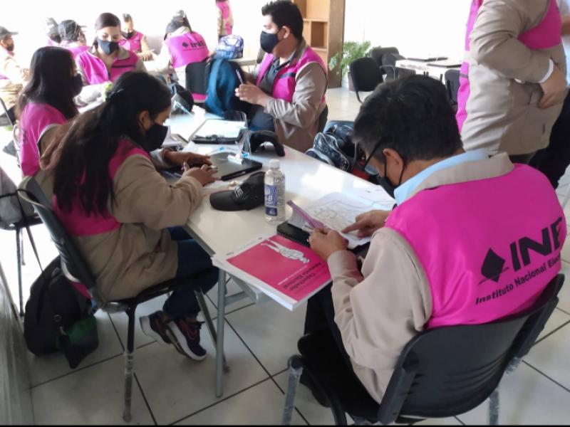 Continúa abierta convocatoria para reclutar supervisores y capacitadores electorales