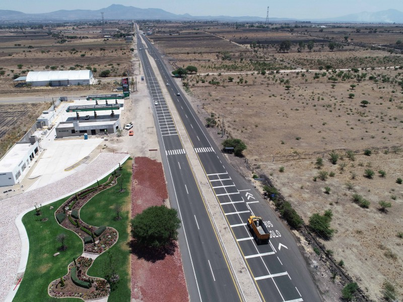 Continúa construcción libramiento Santa Bárbara- Palmillas-Apaseo