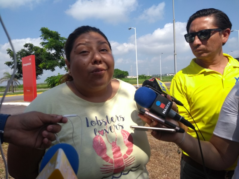 Continúa delicada menor atropellada en fraccionamiento de Veracruz