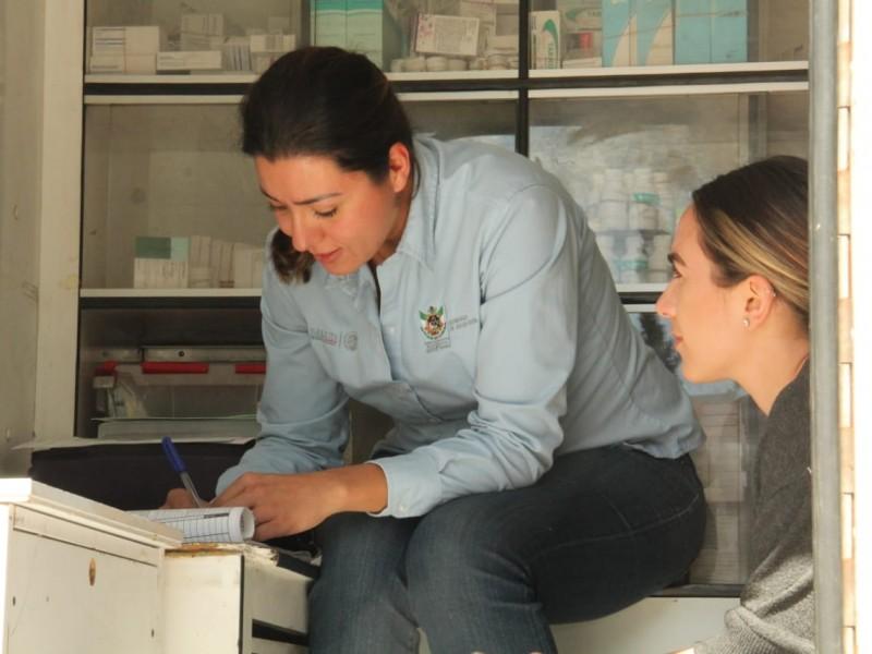 Continúa DIF Estatal con recorrido de Jornadas Médicas y servicios