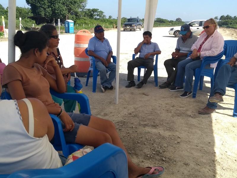 Continúa el bloqueo de construcción autopista Tuxpan-Tampico