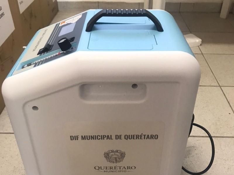 Continúa el préstamo gratuito de Concentradores de Oxígeno