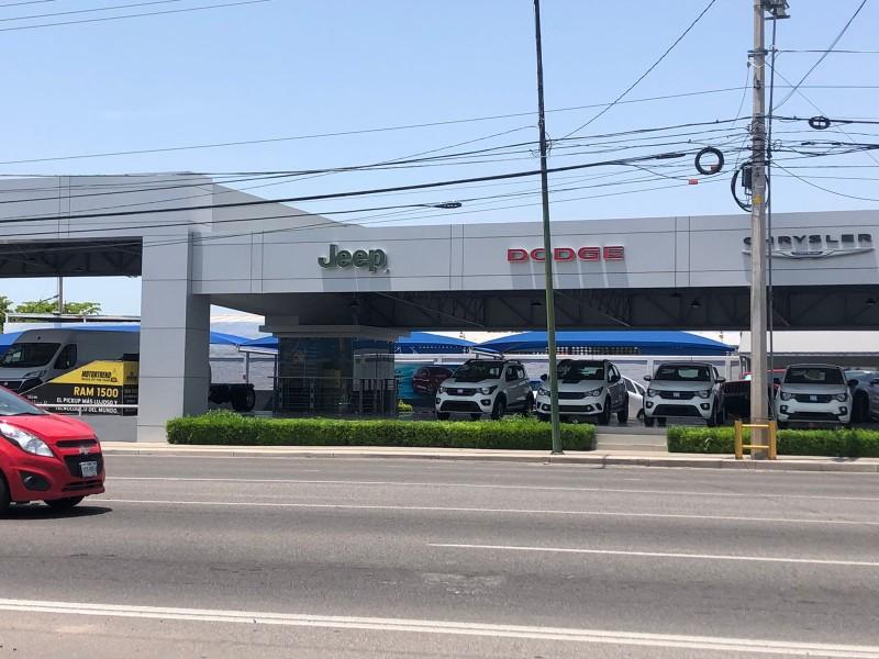 Continúa estancada industria automotriz en Sonora