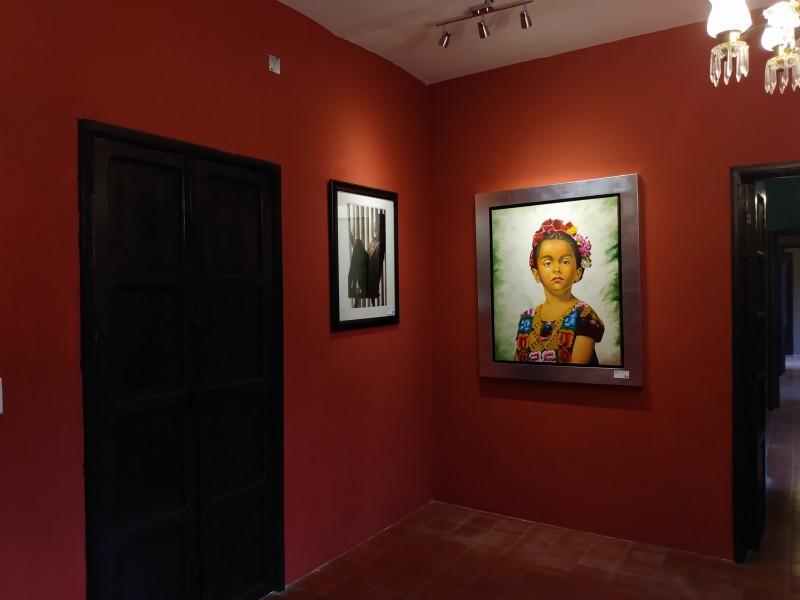 Continúa exposición artistica en Jiquilpan