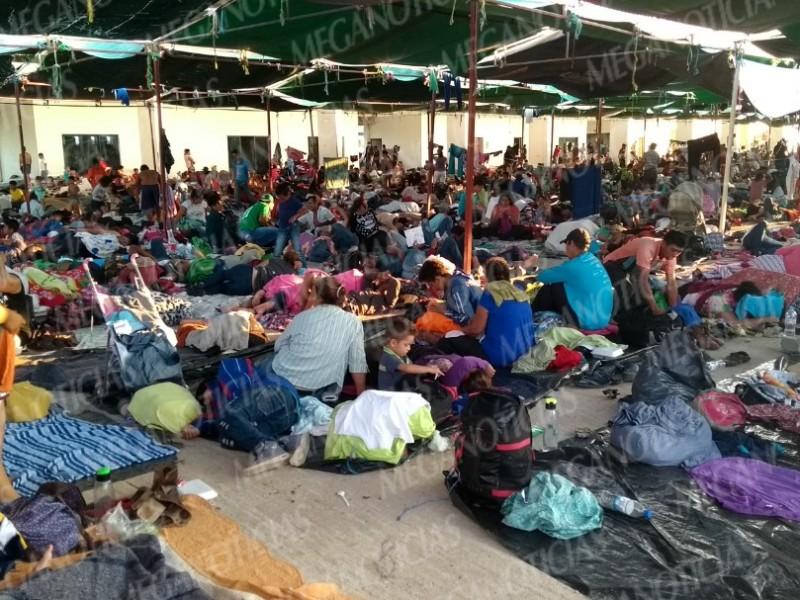 Continúa la Caravana de Migrantes en Juchitán