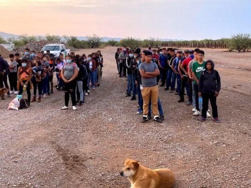 Continúa la detención de menores migrantes indocumentados no acompañados