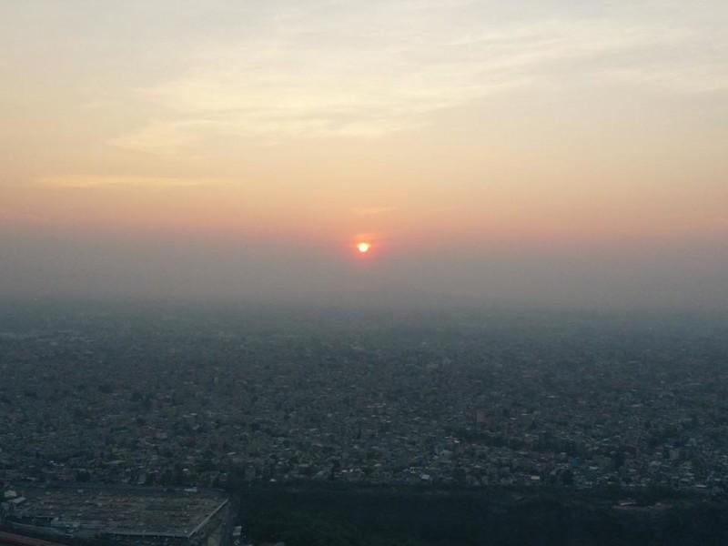 Continúa mala calidad del aire en la Megalópolis