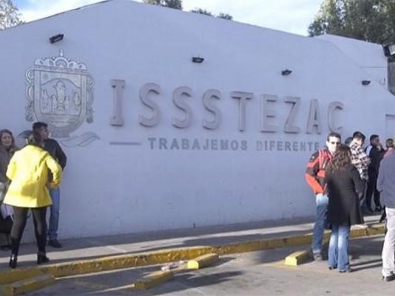 Continúa pago puntual a jubilados y pensionados: ISSSTEZAC