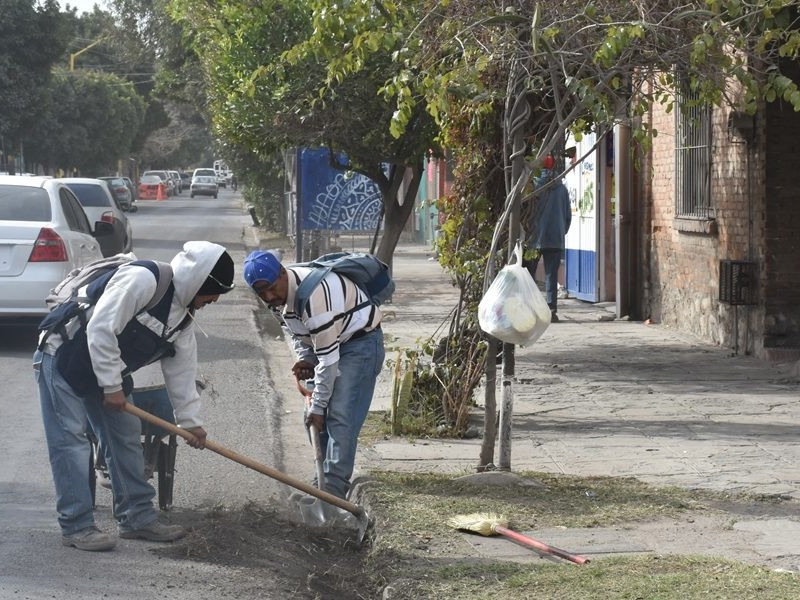 Continúa programa de limpieza en Lerdo
