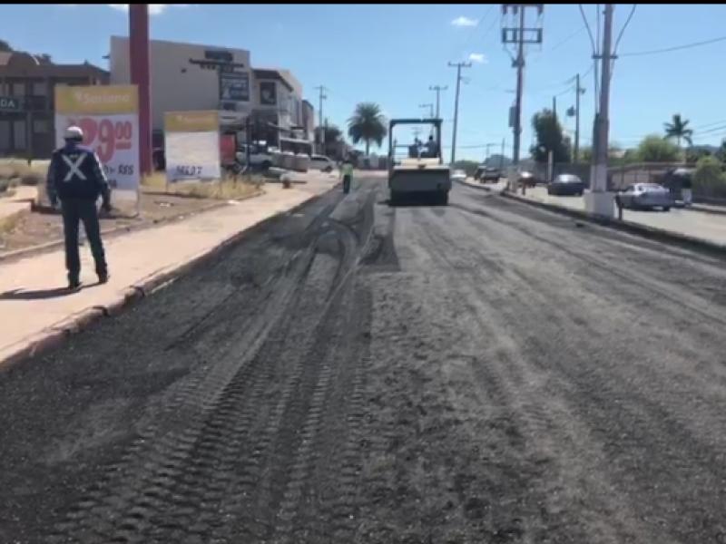 Continúa recarpeteo en Guaymas