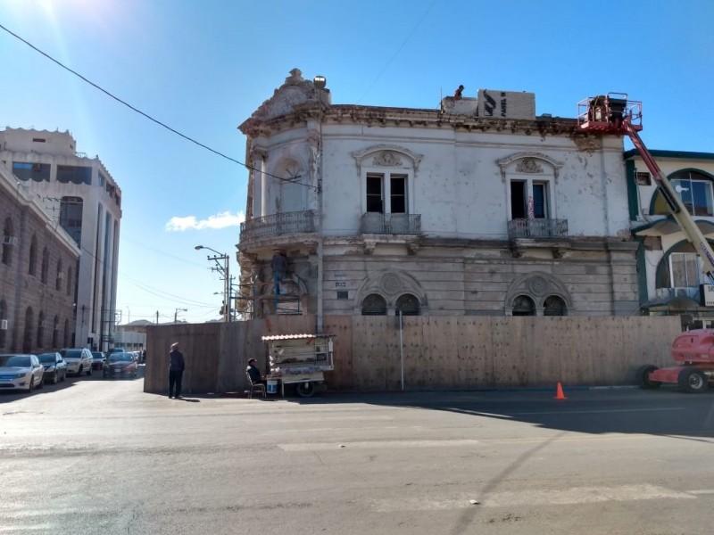 Continúa rehabilitación de Banco Nacional Mexicano