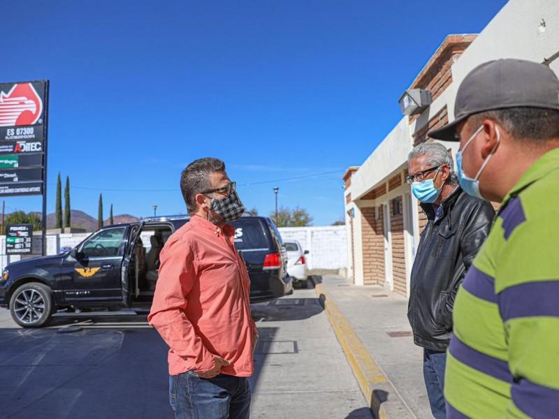 Continúa Ricardo Bours con la caravana naranja por Sonora