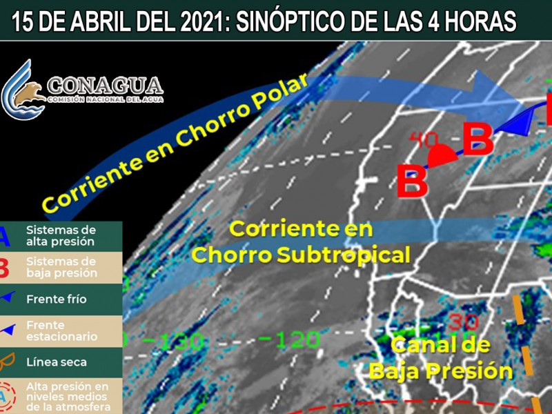 Continúa Sonora sin probabilidad de lluvias