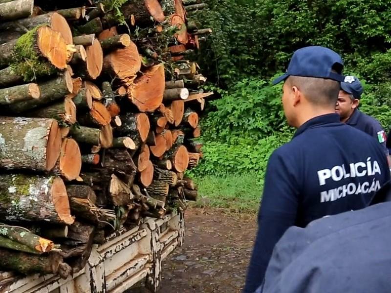 Continúa SSP acciones operativas para preservar los bosques