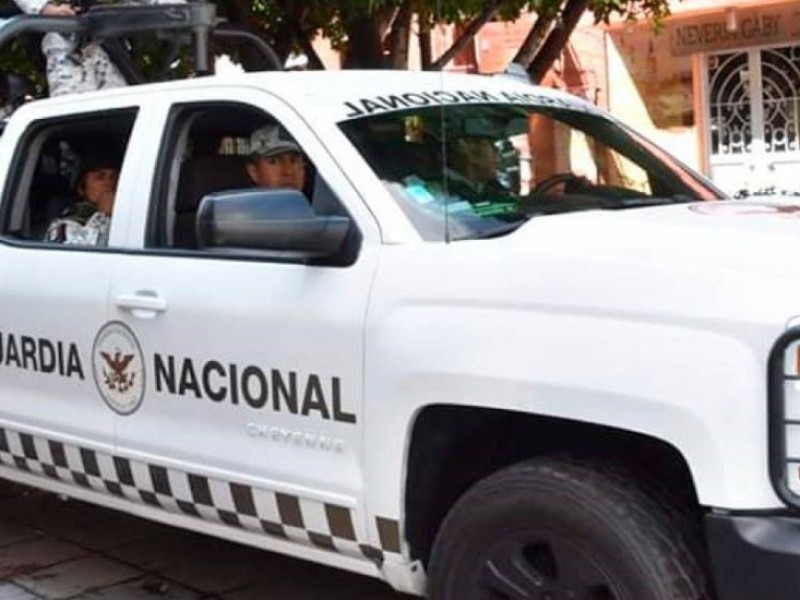 Continúan acciones de Guardia Nacional contra grupos delictivos en Zacatecas