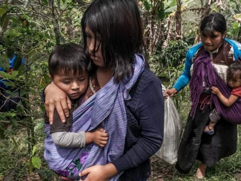 Continúan agresiones y desplazados en Aldama Chiapas