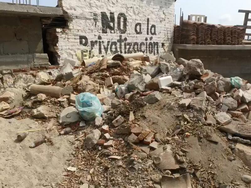 Continúan apoyos para la reconstrucción de viviendas Tehuantepec