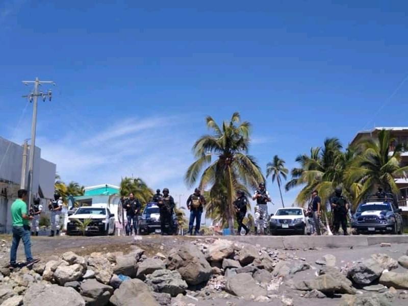 Continúan con la vigilancia en zona de playa
