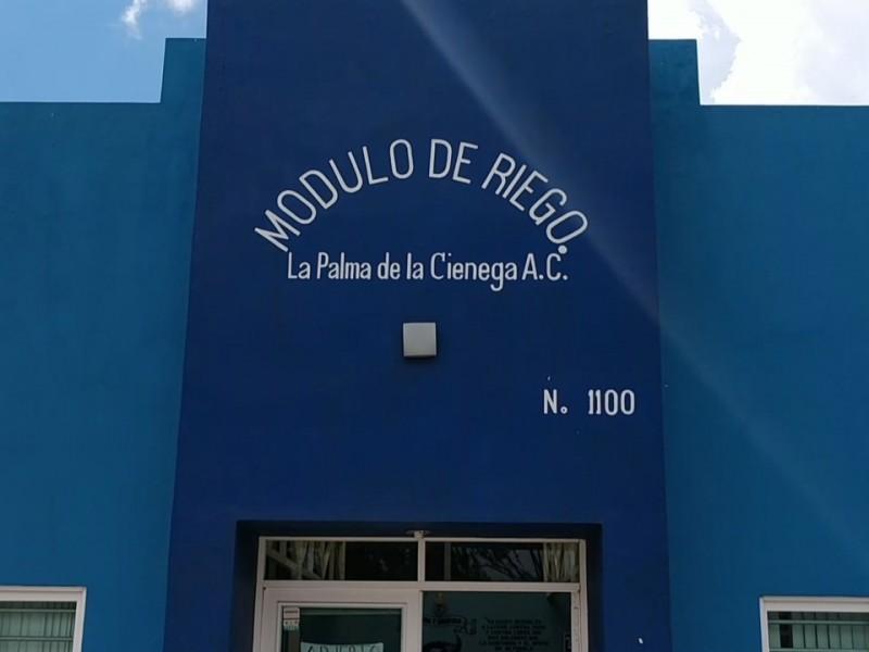 Continúan con problemas financieros en Módulo de Riego La Palma