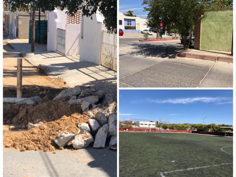 Continúan en el abandono la infraestructura del municipio