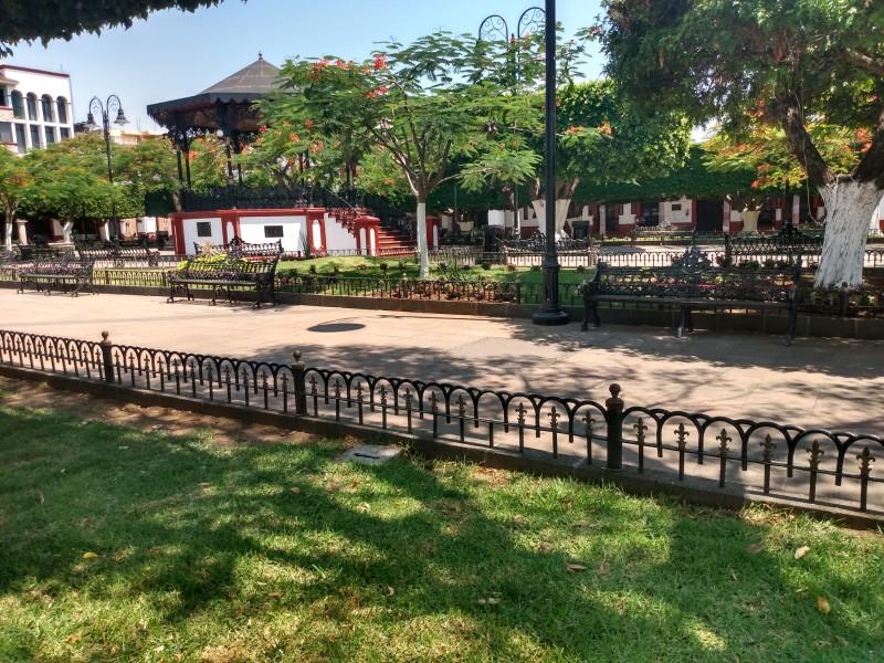 Continúan en Jiquilpan cerrados espacios públicos