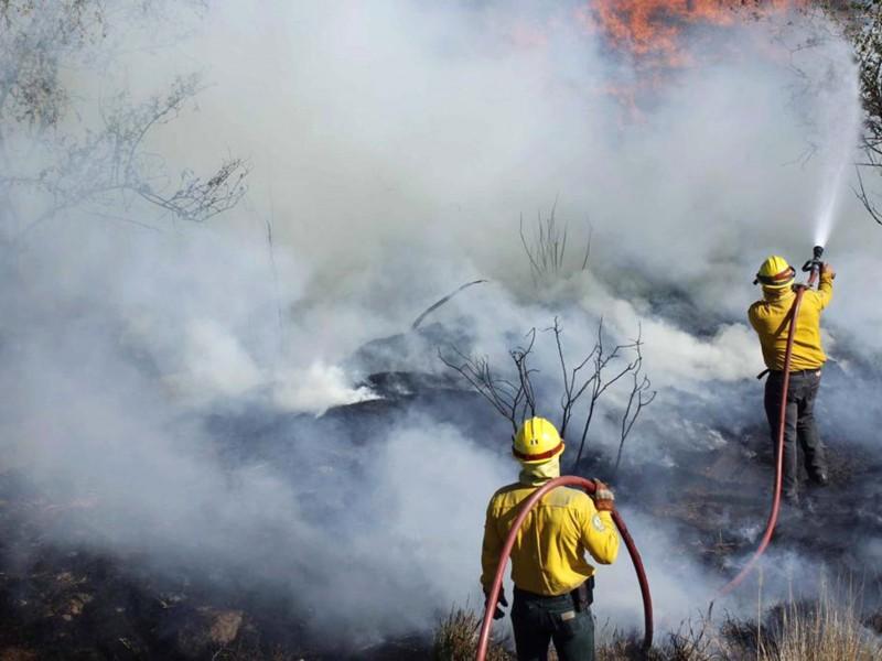 Continuan incendios en el Estado de Querétaro