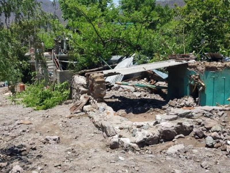 Continúan las afectaciones por lluvias en Oaxaca