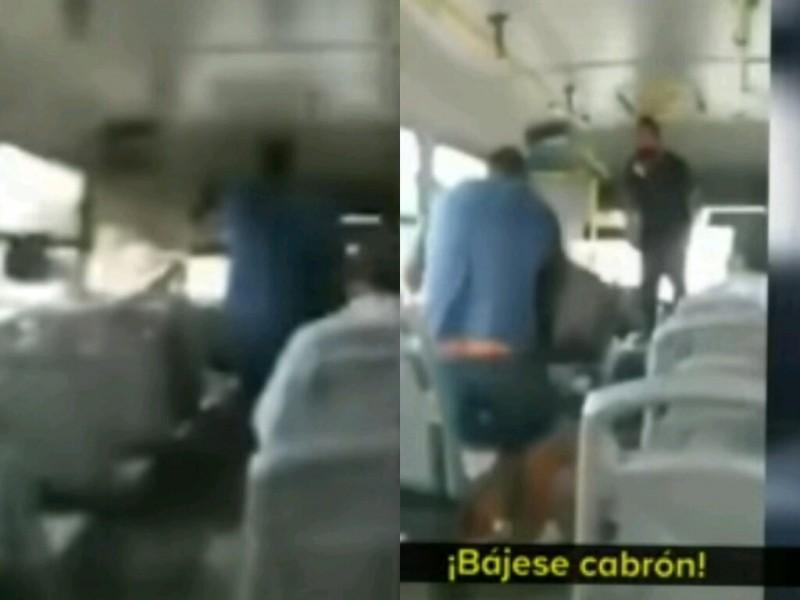 Continuan las agresiones a chóferes de transporte público