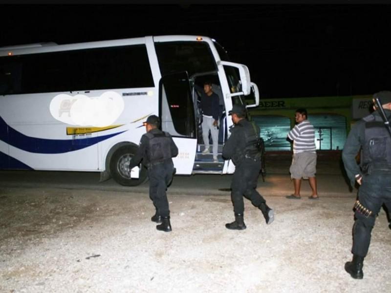 Continúan los asaltos en carreteras de Chiapas