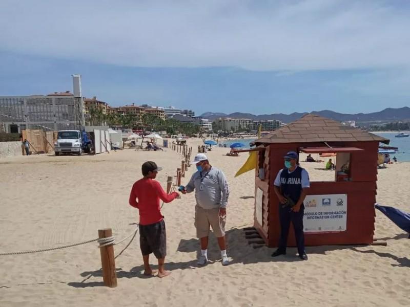 Continúan los filtros de vigilancia en playas