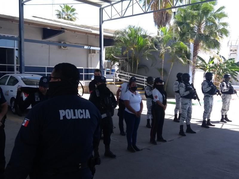 Continúan los operativos por parte de seguridad pública