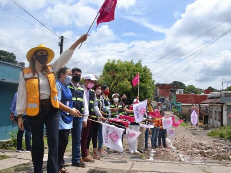 Continúan obras de infraestructura en Tapachula