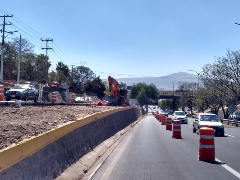 Continúan obras estatales en Bernardo Quintana