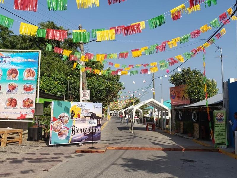 Continúan preparativos para la Feria del Pescador en Tuxpan