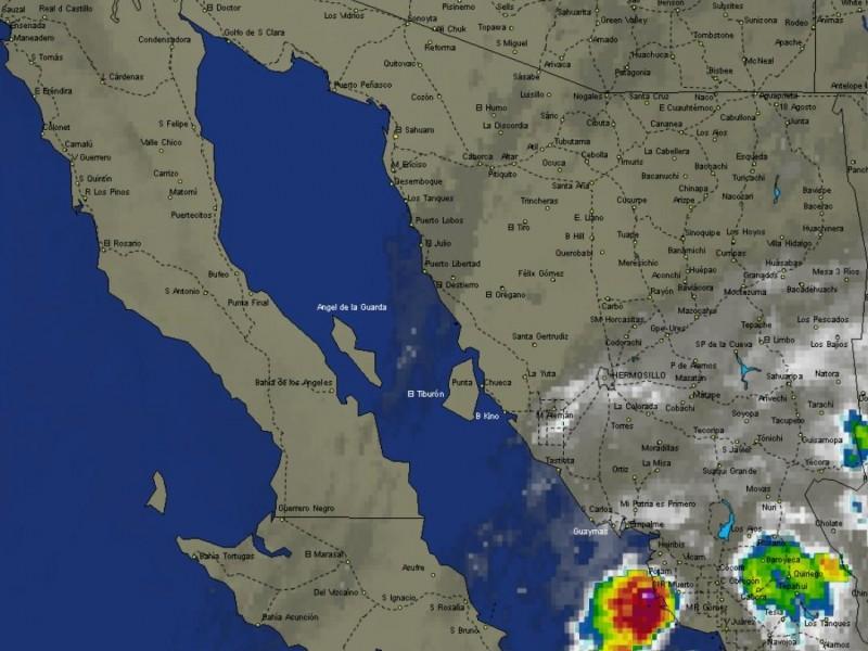 Continúan probabilidades de lluvia en Guaymas