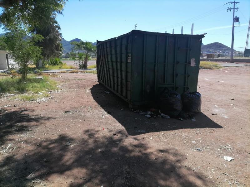 Continúan programas emergentes de basura en Guaymas