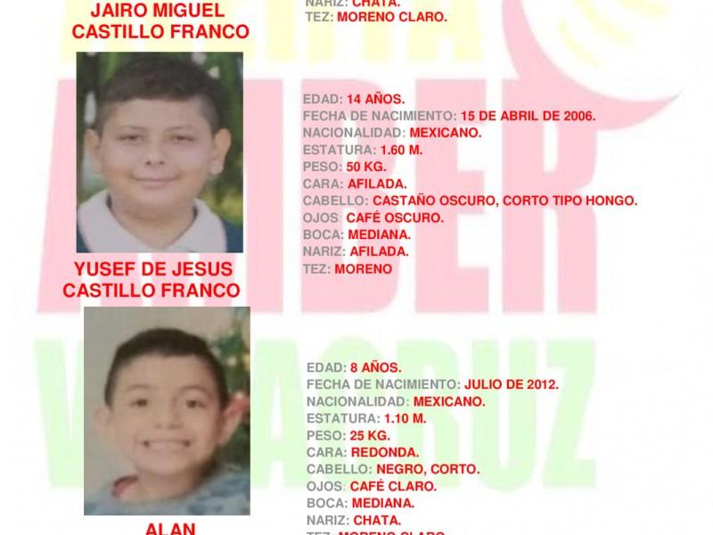 Continúan reportes de menores de edad  desaparecidos