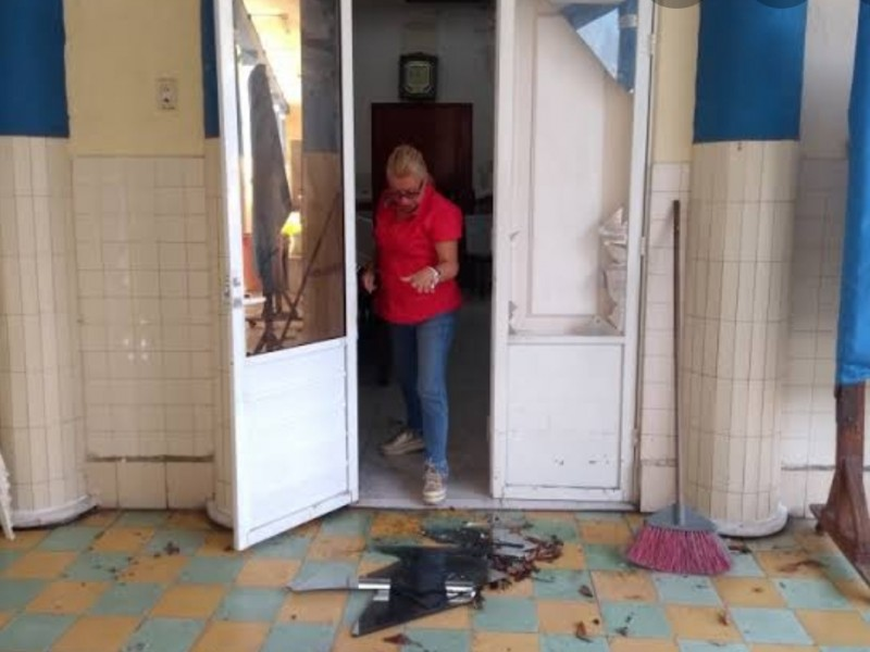 Continúan robos a escuelas en Veracruz