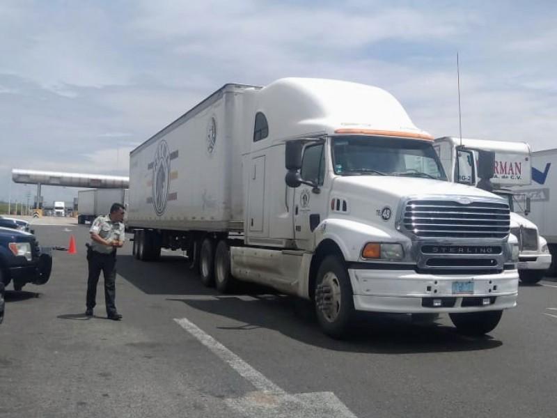 Continúan robos a transporte de carga en Guanajuato: AMOTAC