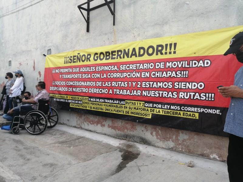 Continúan sin acuerdos entre concesionarios del Conejobús y SMyT