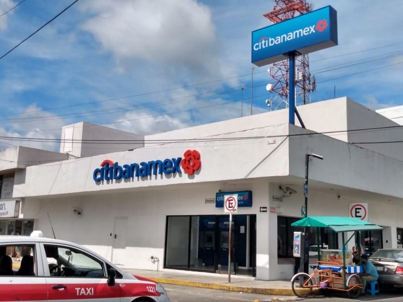 Continúan sin disponibilidad de efectivo cajeros de CitiBanamex